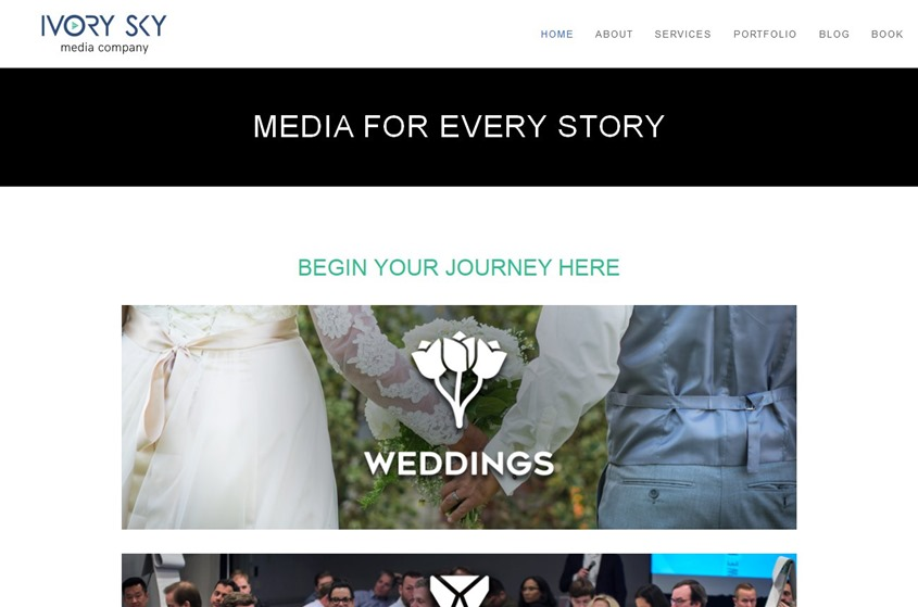 Ivory Sky Media wedding vendor photo