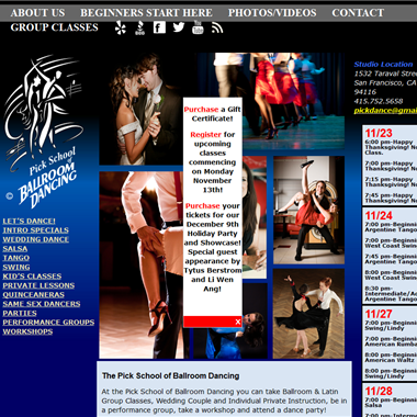 Pick School of Ballroom Dancing wedding vendor preview