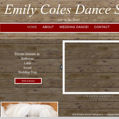 Emily Coles Dance SF wedding vendor preview