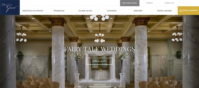 The Grand Baltimore Baltimore Wedding Venue