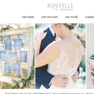 Nouvelle Weddings wedding vendor preview