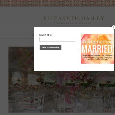 Elizabeth Bailey Weddings wedding vendor preview