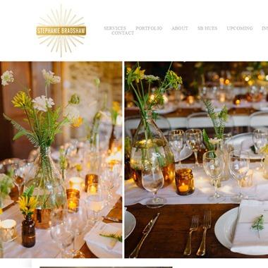Stephanie Bradshaw wedding vendor preview