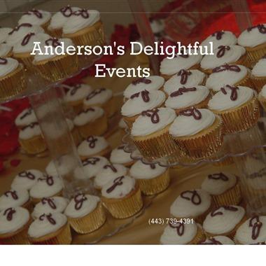 Anderson's Delightful Events wedding vendor preview