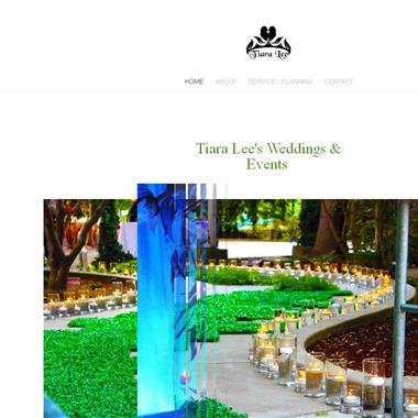 Tiara Lee's Weddings & Events wedding vendor preview