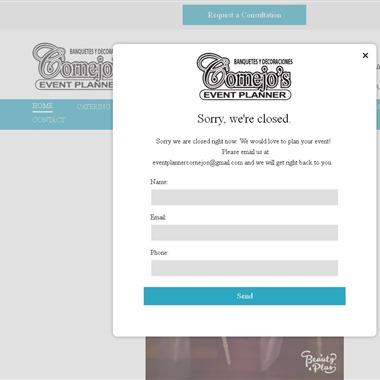 Cornejo's Event Planner wedding vendor preview