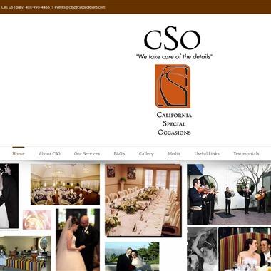 California Special Occasions wedding vendor preview