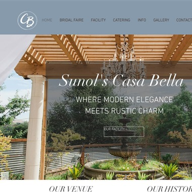 Sunol's Casa Bella Event Center wedding vendor preview