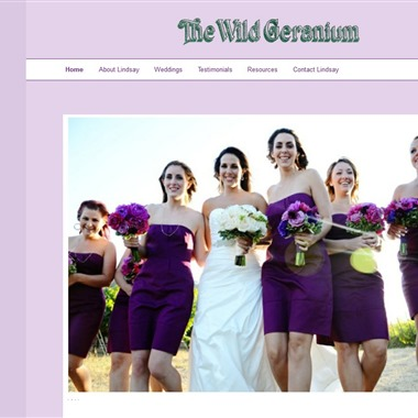The Wild Geranium wedding vendor preview