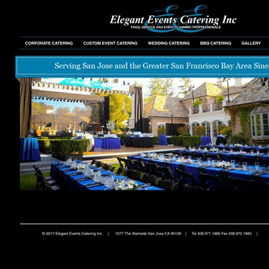Elegant Events Catering wedding vendor preview
