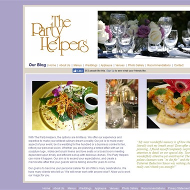 The Party Helpers wedding vendor preview
