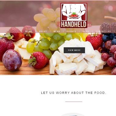 Handheld Catering wedding vendor preview