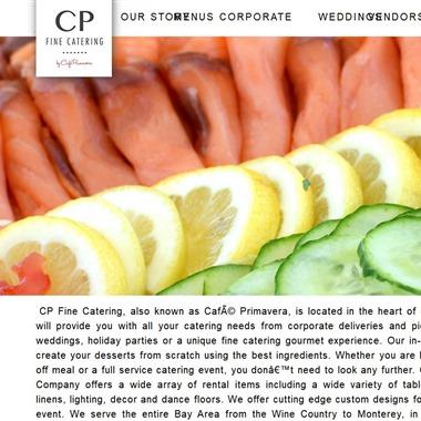 CP Fine Catering By Cafe Primavera wedding vendor preview