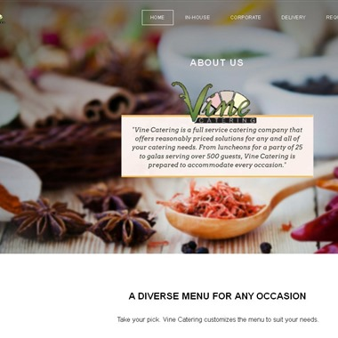 Vine Catering wedding vendor preview