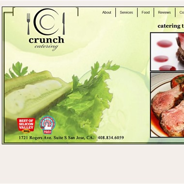 Crunch Catering wedding vendor preview
