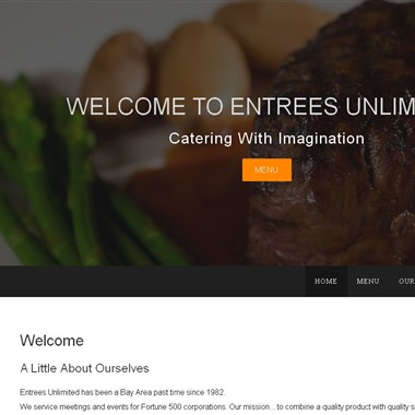 Entrees Unlimited wedding vendor preview