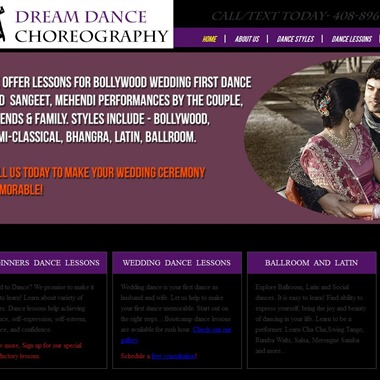 Dreamdancechoreography wedding vendor preview