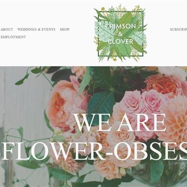 Crimson and Clover wedding vendor preview
