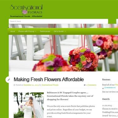 Scentsational Florals wedding vendor preview