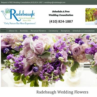 Radebaugh Florist wedding vendor preview
