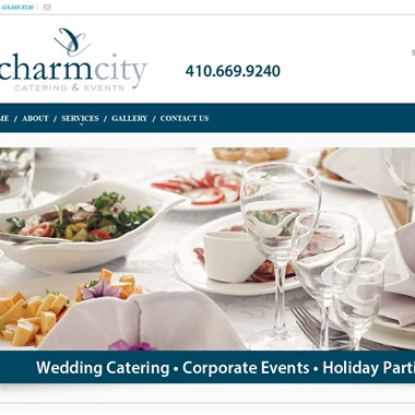 Charm City Catering wedding vendor preview