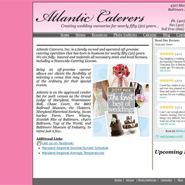 Atlantic Caterers wedding vendor preview