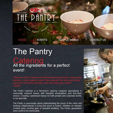 The Pantry Catering wedding vendor preview