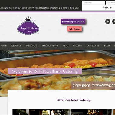 Royal Xcellence Catering wedding vendor preview