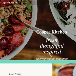 Photo of Copper Kitchen Test, a wedding Caterers in Baltimore