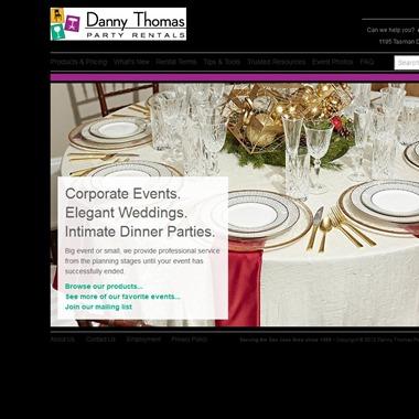 Danny Thomas Party Rentals wedding vendor preview