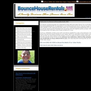 Bounce House Rentals wedding vendor preview