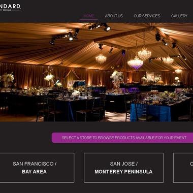 Standard Party Rentals wedding vendor preview