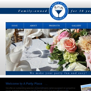 A Party Place wedding vendor preview