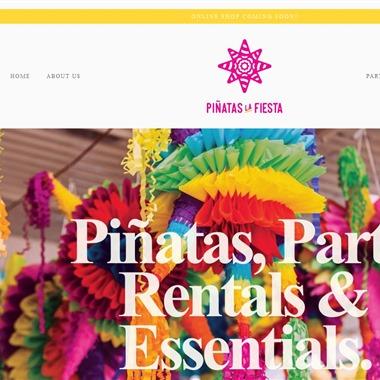 Pinatas La Fiesta wedding vendor preview