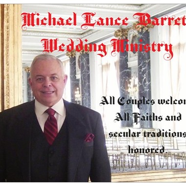 Michael Lance Barrett Wedding Ministry wedding vendor preview