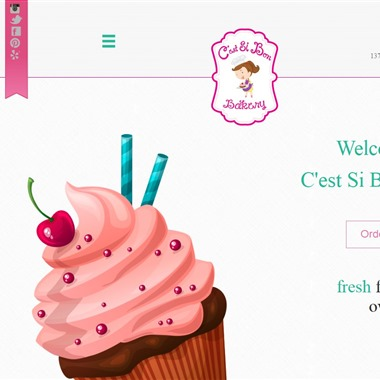 C est Si Bon Bakery wedding vendor preview