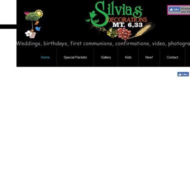 Silvia's Decorations wedding vendor preview