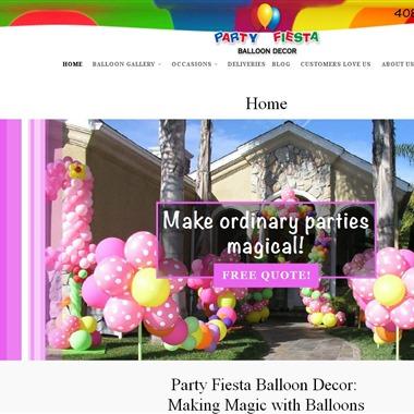 Party Fiesta Decor wedding vendor preview