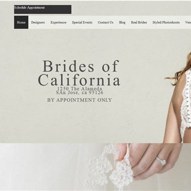 Brides of California wedding vendor preview