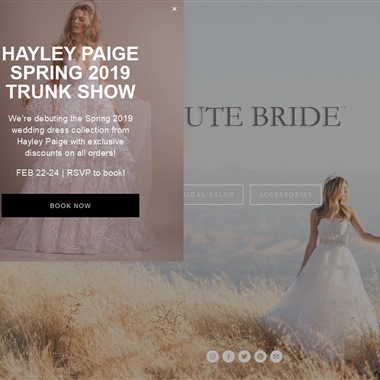 Haute Bride  wedding vendor preview