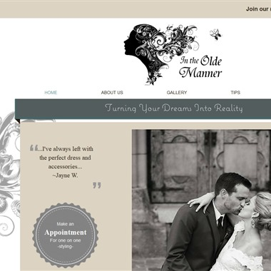 In The Olde Manner wedding vendor preview