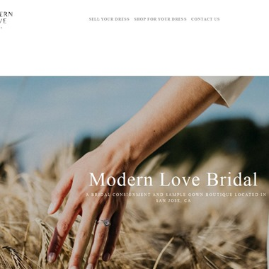 Modern Love Bridal wedding vendor preview