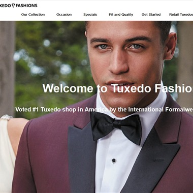 Tuxedo Fashions wedding vendor preview