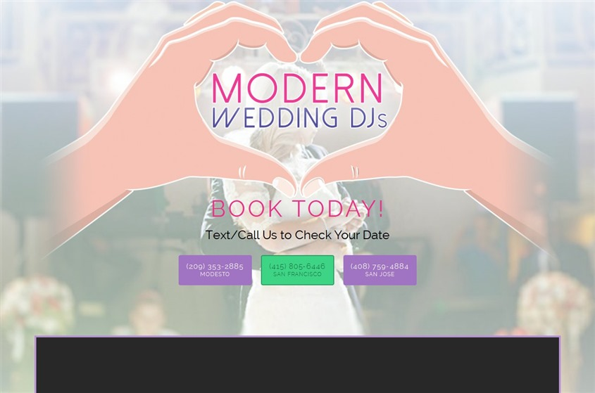 Modern Wedding Dj's wedding vendor photo