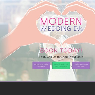 Modern Wedding Dj's wedding vendor preview