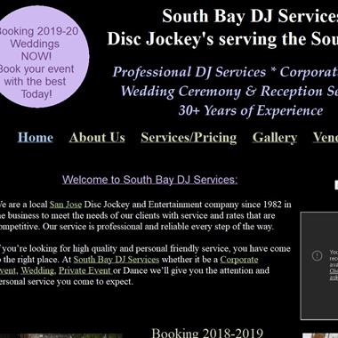 South Bay Dj Services wedding vendor preview