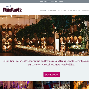 Dogpatch WineWorks wedding vendor preview