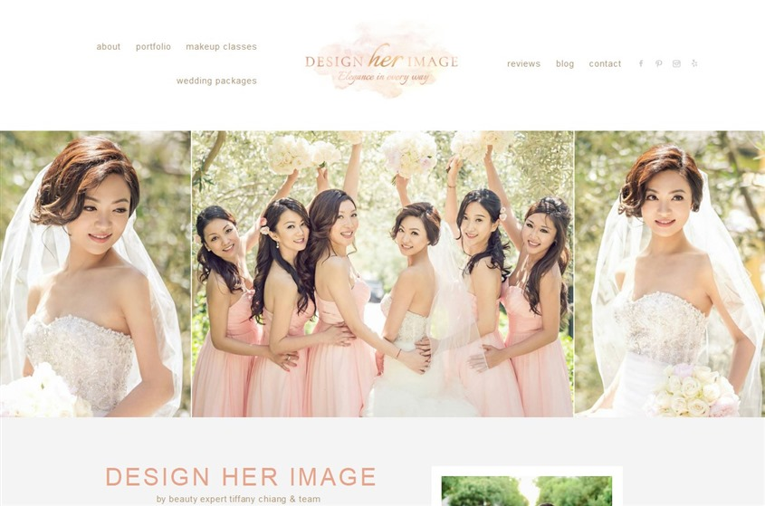 Design Her Image Bridal Makeup and Hair Design wedding vendor photo