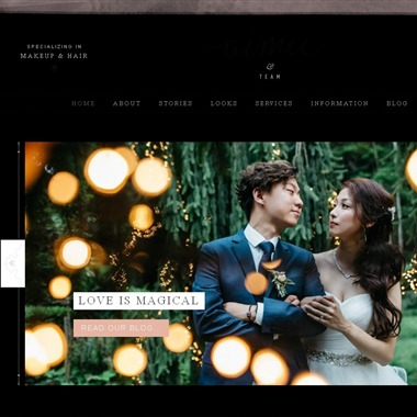 Beauty UpClose wedding vendor preview