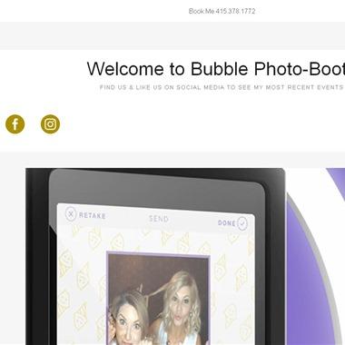 Bubble Photo Booth wedding vendor preview